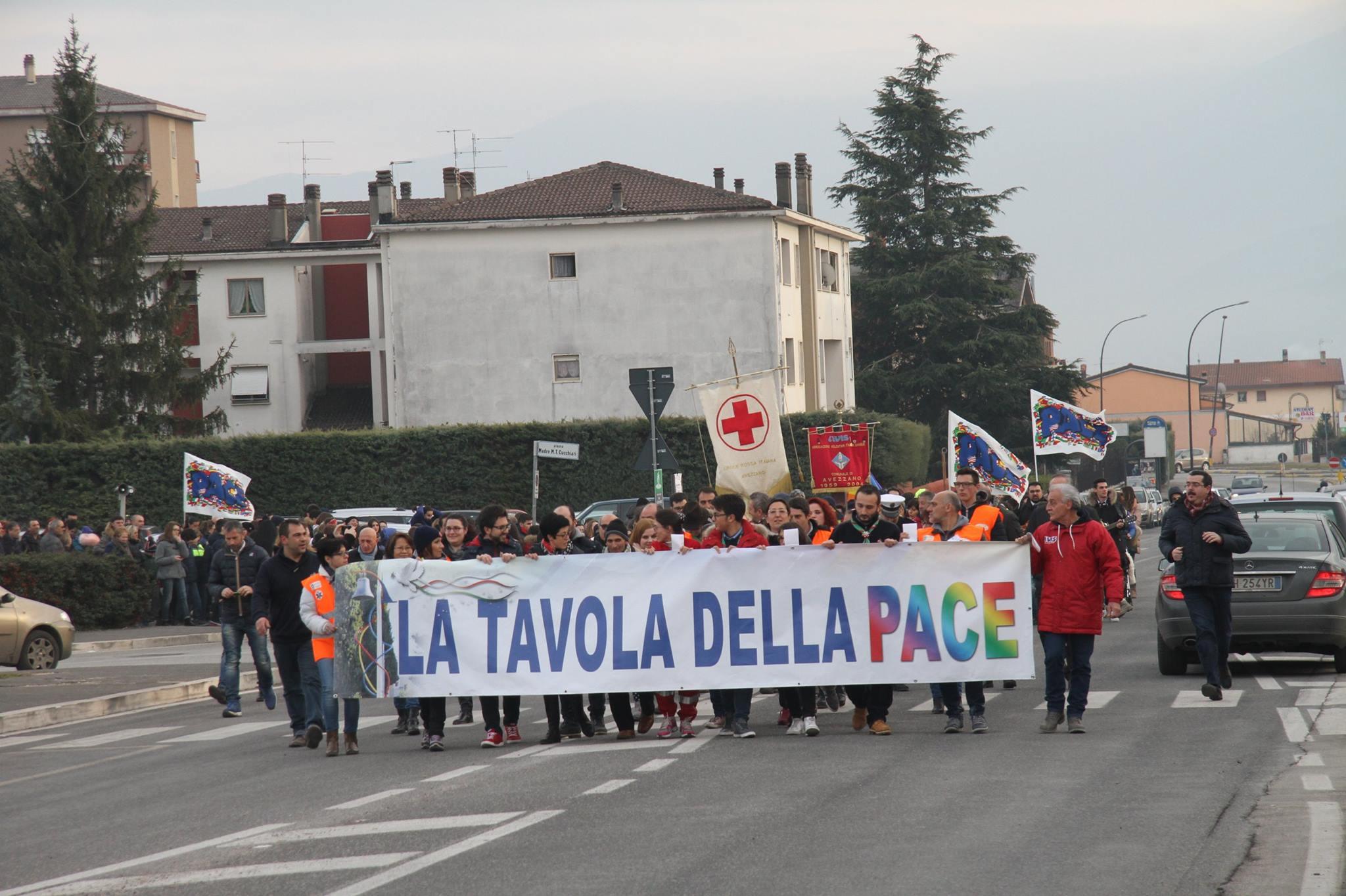 foto tavola della pace
